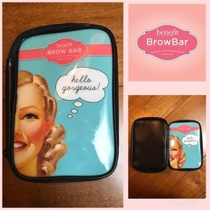 Benefit 2015 Brow Bar Peggy Cosmetic Case